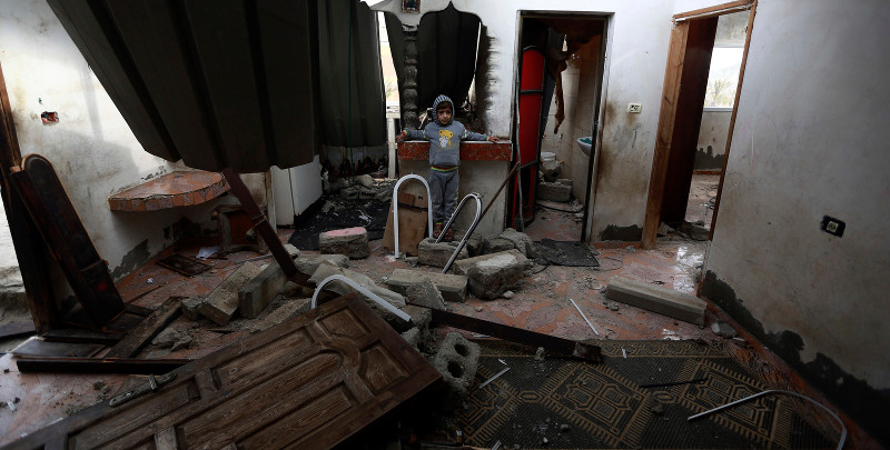 Israeli Bombs Are Raining down on Gaza and No One Is Talking About It