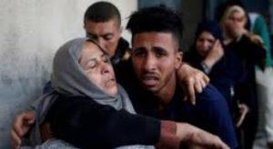 Palestinians suffer