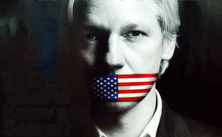 Julian Assange to be silenced by the US