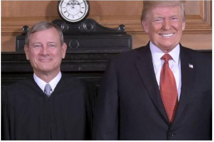 Roberts vs Trump